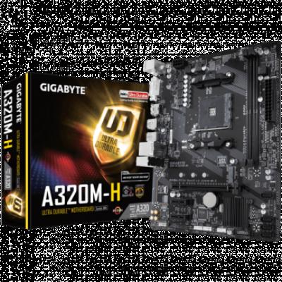 Matična ploča GIGABYTE GA-A320M-H  AMD, AMD® AM4, AMD® A320, Micro ATX