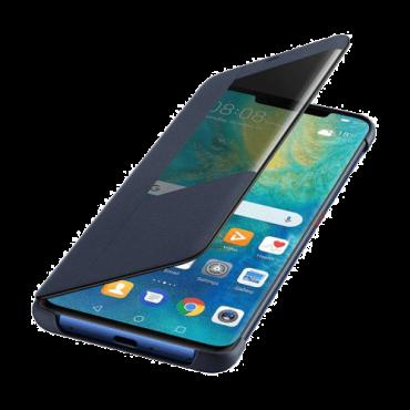 HUAWEI Futrola Mate 20 Pro Flip Cover  Futrola sa preklopom, Huawei Mate 20 Pro, Poliuretan/Plastika, Plava