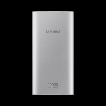 SAMSUNG Power bank / eksterna baterija EB-P1100B  10000 mAh, 1 x Micro USB, 2 x USB A, Srebrna