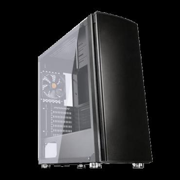 THERMALTAKE kućište Versa H27 - CA-1J6-00M1WN-00  Midi Tower, Micro-ATX, Mini-ITX, ATX, Bez napajanja, Crna