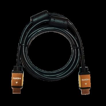 LINKOM HDMI kabl 2.0 4K, 1.8m Pozlaćen (Crni),