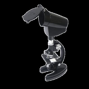 SKYOPTICS mikroskop BM-2XT,  10x, 30x, 60x, 120x, 300x-1200x, Crna