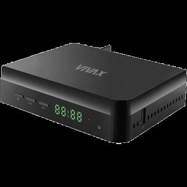 VIVAX Set Top Box DVB-T2 155  HDMI, Scart, Crna