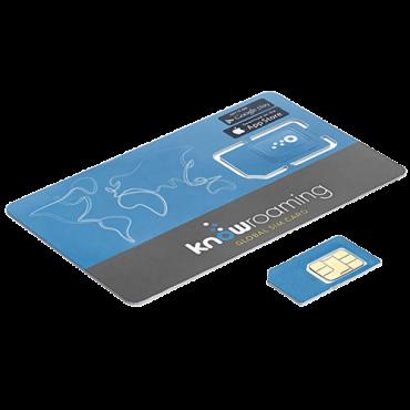 KNOWROAMING SIM kartica,  Plava
