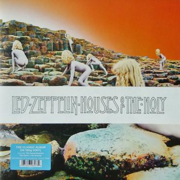 Led Zeppelin – Houses Of The Holy,  Atlantic, Jedna ploča, Album, Rock