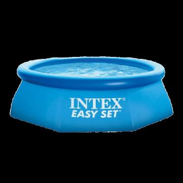 INTEX Bazen sa filter pumpom EasySet 47319 (Plavi)  Okrugli, 244 x 76 cm, 2419 l, PVC