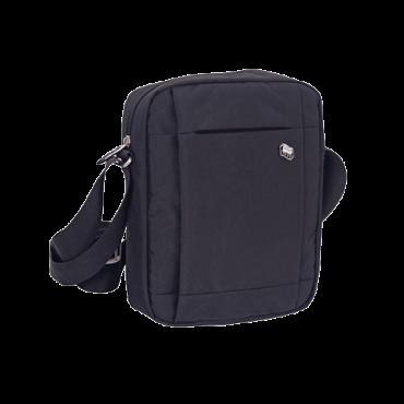 PULSE torbica CITY SATELITE - PULSE120699  Torba na rame, Siva, Poliester, Muški