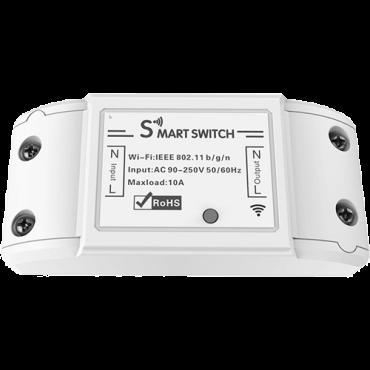 WOOX pametni prekidač 10A (bela) - R4967  Prekidač, Daljinska kontrola (bežična), Instalacija na zid (klasični prekidač)