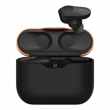 SONY bežične bubice WF1000XM3 - TWS (Crne)  Bluetooth + NFC, do 32 sata, Aktivno poništavanje okolne buke (ANC), 20Hz - 20KHz