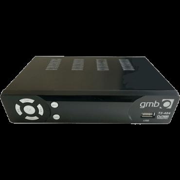GEMBIRD Set Top Box GMB-T2-404  DVB-1 i DVB-T2, HDMI, Scart, Koaksialni audio izlaz, RF, USB 2.0, Crna