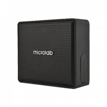 MICROLAB bežični zvučnik D15 (Crni)  Mono, 3W