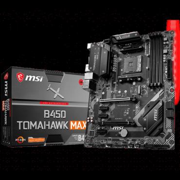 Matična ploča MSI B450 TOMAHAWK MAX  AMD, AMD® AM4, AMD® B450