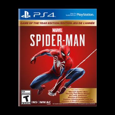 Igra PS4 Marvels Spider-Man Game of the Year Edition (GOTY)  Akciona avantura, PEGI 16