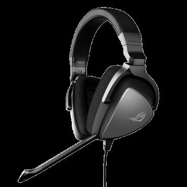 ASUS gejmerske slušalice ROG DELTA CORE (Crne) - 90YH00Z1-B1UA00  3.5mm (četvoropolni) + adapter 2 x 3.5mm, Stereo, 20Hz - 40KHz, 50mm
