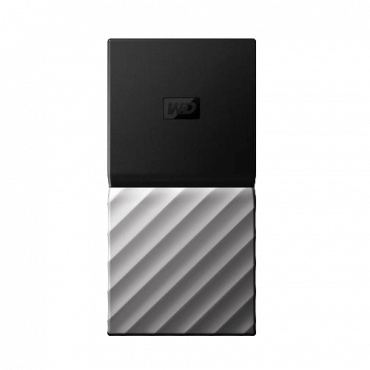 WESTERN DIGITAL Eksterni SSD My Passport  256 GB, Crna / siva, USB-C