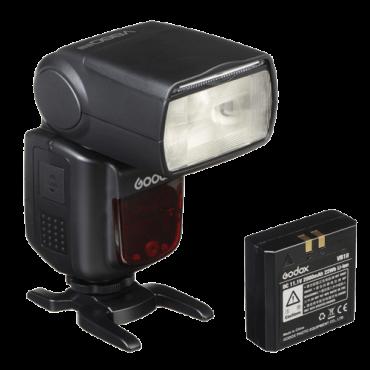 GODOX Blic za Nikon sa baterijom V860II N  Nikon i-TTL, 60m @ ISO-100, Master/ Slave, 20 - 200 mm