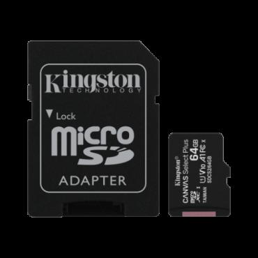 Memorijska kartica KINSTON Memorijska kartica 64GB Select Canvas Plus - SDCS2/64GB -   microSD, 64GB, UHS U1