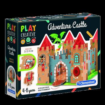 CLEMENTONI Play creative dvorac set - CL15272  4+ godina, Karton, papir