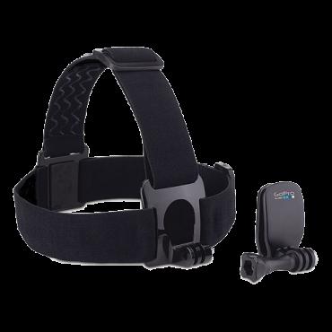 Oprema za akcione kamere GoPro Head Strap + QuickClip - ACHOM-001  Nosač, Putovanje i porodica, Crna