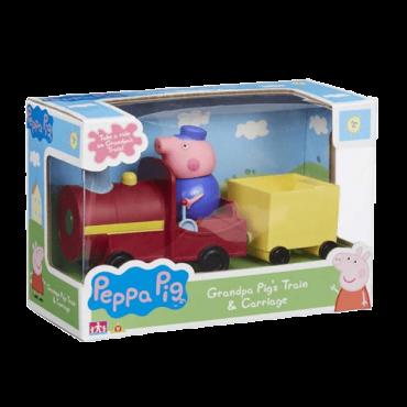 Peppa pig Set dekin voz - TO6762  Set, Univerzalno, 3+ godina, Plastika, karton
