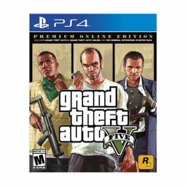 Igra PS4 Grand Theft Auto V - GTA 5 Premium Edition  Akciona, PEGI 18