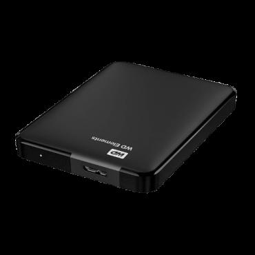 WESTERN DIGITAL Elements 1TB WDBUZG0010BBK Eksterni HDD  1TB, Crna, USB 3.0