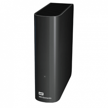 WESTERN DIGITAL Eksterni HDD 4TB - Elements desktop - WDBWLG0040HBK -   4 TB, Crna, USB 3.0