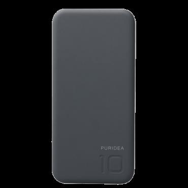 PURIDEA Power bank / eksterna baterija S2 - S2PB10GR  10000 mAh, 1 x Micro USB, 1 x USB A, Siva