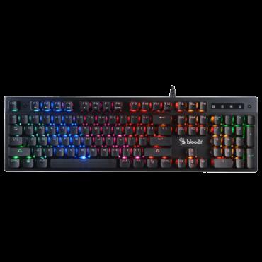 A4 TECH Gejmerska tastatura BLOODY SWITCH B500N (Crna)  USB, Membranski tasteri, EN (US), 1,8 m