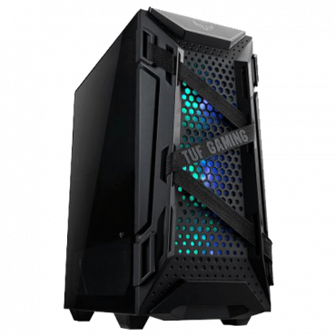 ASUS Kućište TUF GAMING GT301  Midi Tower, Micro-ATX, Mini-ITX, ATX, Bez napajanja, Crna