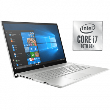 "Laptop HP ENVY - 17-ce1016nm - 8NE98EA  Intel® Core™ i7-10510U Processor, 8M Cache, up to 4.90 GHz, 17.3"", 1TB SSD, 16GB"