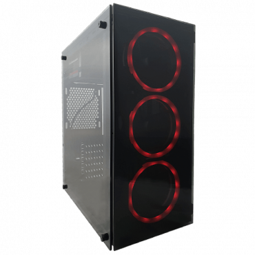 Računar GIGATRON Prime Fury Max Gaming  Intel® Core™ i3 Processor, 8GB DDR4 3200 MHz, 240GB SSD, AMD Radeon RX 580