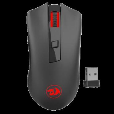 REDRAGON Bežični gejmerski miš M652 (Crni)  USB nano prijemnik, Optički, 2400 DPI, 250 Hz / 4 ms