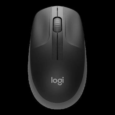 LOGITECH Bežični miš M190 (Crna) 910-005905  USB nano prijemnik, Optički, 1000 DPI, Alkalna baterija