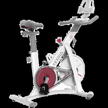 YESOUL Sobni bicikl Spinning S3 (Beli)  Bela, do 150 kg
