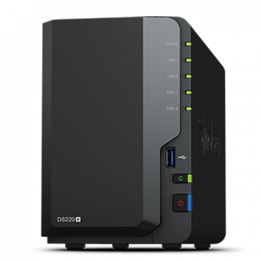 SYNOLOGY DS220+ DiskStation  2 GB, 108TB, 2