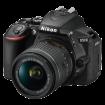 """Fotoaparat NIKON D5600 + 18-55 mm VR (Crna)  DSLR, 24.2 Mpix, 3.2"""", CMOS"""