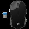 HP Bežični miš 200 (Crni) X6W31AA  USB nano prijemnik, Optički, 1000 DPI
