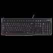 LOGITECH Žična tastatura K120 USB YU Retail - 920-002498  USB, Membranski tasteri, SRB (YU), 1,5 m
